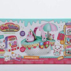Cute Kids Basket with Ice Cream Ideal for gift like birthda
