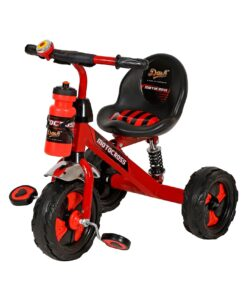 Extreme-Motocross Stylish Steel Tricycle for Kids/Baby with Strong Frame-Red
