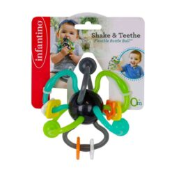 Infantino - Shake & Teethe Flexible Rattle Ball-IN216569