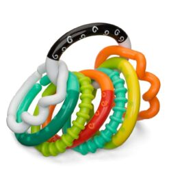Infantino - Textured Ring Links-IN206158