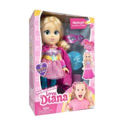 Love, Diana 13 inch Doll Mashup Princess to Superhero-79865-ATL