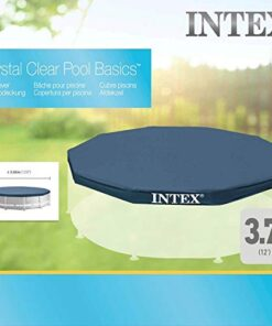 Intex Krysral Clear Round Pool Cover - 28031