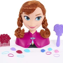 Inspired by the hit Disney movie, Frozen, the Anna Styling Head will soon become your little one's favourite friend