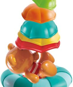 Hape Kids Little Splashers Teddy's Umbrella Stackers -E0203