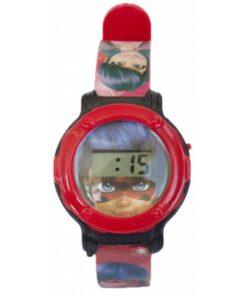 Zag Hereoz Miraculous Turbo Digital Watch in Coin Bank TIN Box