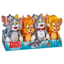 Kids can imagine fun stories with the Tom & Jerry S1 Plush Toy (20 cm, Styles May Vary)