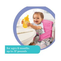 Summer Infant Pop N Sit Folding Booster Pink-SI13546A