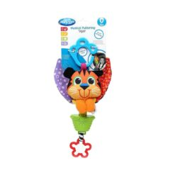 Playgro Musical Pullstring Tiger Baby Infant Toy
