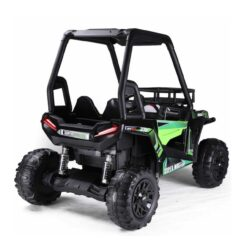 Double Seater Quadzilla Crawler Buggy For Big Kids Green