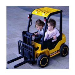 Rechargeable Car Crane Forklift Yellow For Kids NI-DLS08