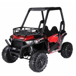 Bio Car Double Seater Quadzilla Crawler Buggy For Big Kids Red-NI-360R