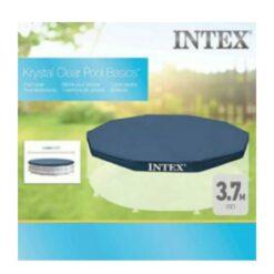 Intex Krysral Clear Round Pool Cover - 28031