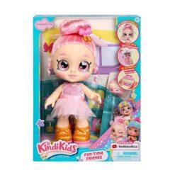 Kindi Kids Fun Time Friends - Pre-School Play Doll Pirouetta -50060-RT