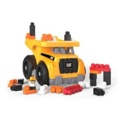 Mega Bloks CAT Large Vehicle Dump Truck-DCJ86