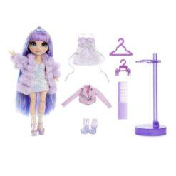 Rainbow Surprise Rainbow High Violet Willow Purple Clothes Fashion Doll