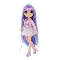 Rainbow Surprise Rainbow High Violet Willow – Purple Clothes Fashion Doll