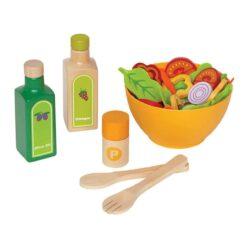 Hape Garden Salad Wood Play Kitchen Play Set - E3116