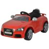 Audi TT Powered Riding Car Rechargeable Battery Car For Kids