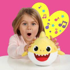 Pinkfong Baby Shark Interactive Yellow-MBS-01002