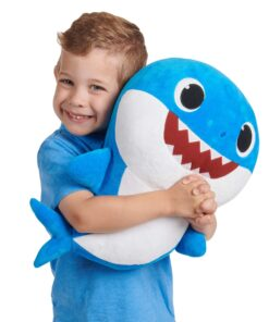 Baby Shark Daddy Shark Plush Doll with Sound (46 cm)-PFSS-08003