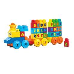 Mega Bloks ABC Musical Train Building Toys- FWK22