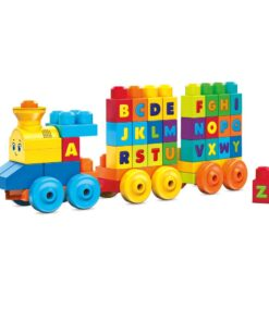 Mega Bloks ABC Musical Train Building Toys- FWK22