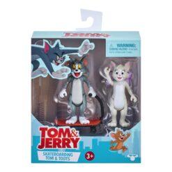 Tom & Jerry Skateboarding Tom & Toots Figures-14454-RT