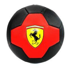 Mesuca Ferrari 5 Machine Sewing Soccer Ball Black – F661