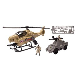 Chap Mei - Soldier Force 9 Shadow Copter Playset - 540069