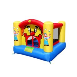 Happy Hop Clown Slide & Hoop Bouncer Airflow Bouncy 300 X 225 X 175 cm - 9201