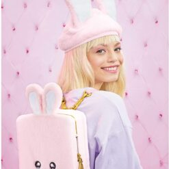 Na Na Na Surprise 3-in-1 Backpack Bedroom Pink Bunny Playset Aubrey Heart Doll