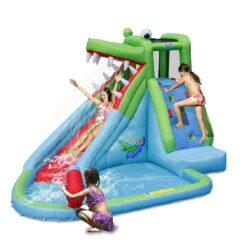 Air Flow Crocodile Inflatable Water Slide -9240