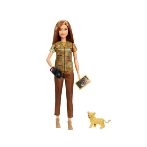 Barbie I Can Be Nat Geo Doll Green - GDM44
