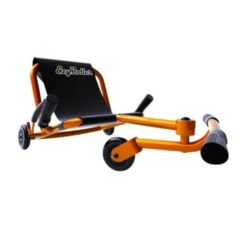 EzyRoller Classic – Orange – Ride On for Children Ages 4+ Years Old – New Twist on Scooter