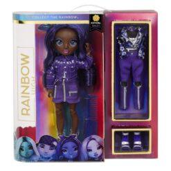 Rainbow High Krystal Bailey – Indigo (Dark Purple) Fashion Doll MGA-572114