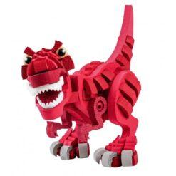 Bloco Red T-Rex Stem Dinosaurus