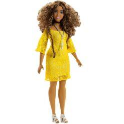 Barbie - Fashionistas & Fashions Dress & Accessories Yellow - FJF67