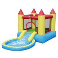 Happy Hop Castle Pool & Slide 365 X 200 X 190 cm - 9820