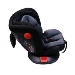 Monami Baby Carseat 360 Isofix Rotating – LB-619-Black
