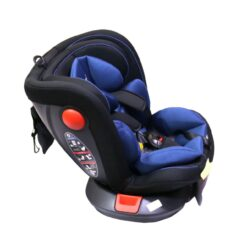 Toys 4you Monami Car Seat 360 Rotating & Reclining 12 Years, From 0-36 - Blue