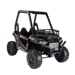 Bio Car Double Seater Quadzilla Crawler Buggy For Big Kids BLACK-NI-360R