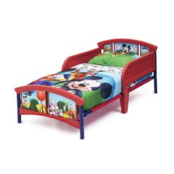 Delta Children Disney Mickey Mouse Plastic Toddler Bed – DF86681MM
