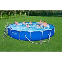 Bestway Frame Pool Set 488Cmx84Cm - 56654BW