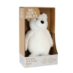 Resoftables Plush Polar Bear Medium 14 Inches - 79496-ATL
