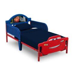 Delta Children Disney Cars Plastic Toddler Bed - DF87120CR
