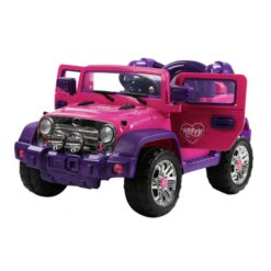 Happy Car Battery Operated Powered Riding Car - Pink
