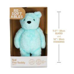 Resoftables Plush Teddy Ted Medium 14 Inches - 79497-ATL