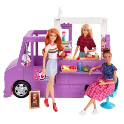 Barbie - Food Truck With Doll - GMW07
