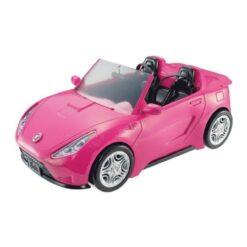 Barbie Glam Convertible Pink Car - DVX59