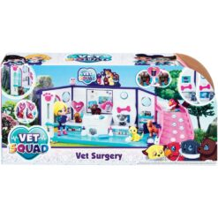 Vet Squad - Vet Surgery Playset with 4 Pets and Accessories - GL334217